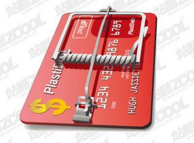 carte de crédit piege à souris