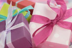 cadeaux noeuds rubans
