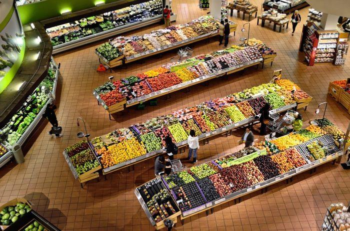 rayon fruits et legumes