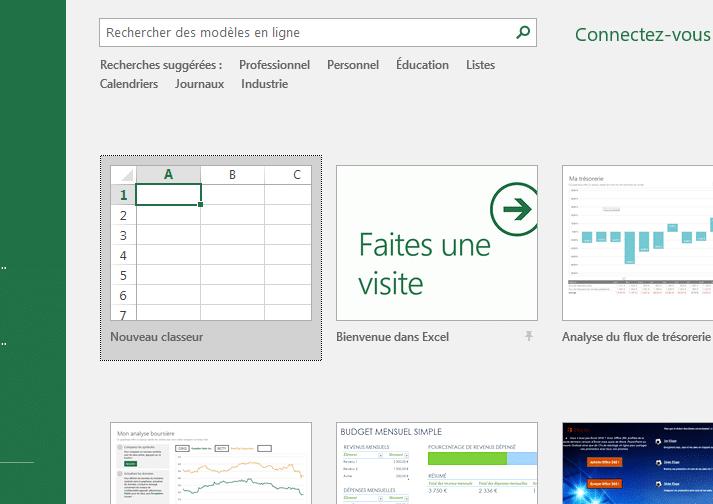 Bien connu Tuto : créer un tableau Excel pour faire ses comptes - Famille économe WV86