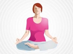 zen yoga lotus