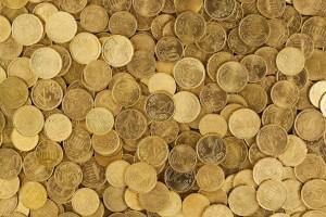 pieces dorées