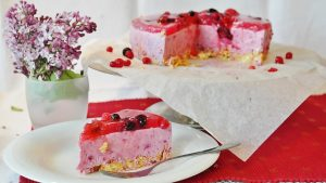 gâteau fruits rouges