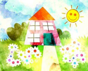 maison chaleureuse