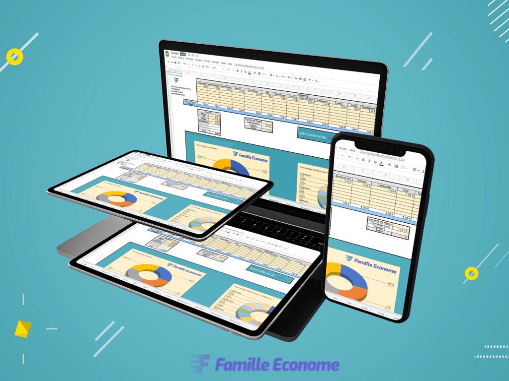 Fichier excel - Famille Econome